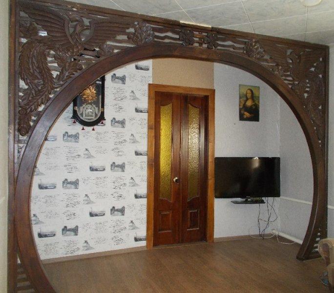 резная арка в дом