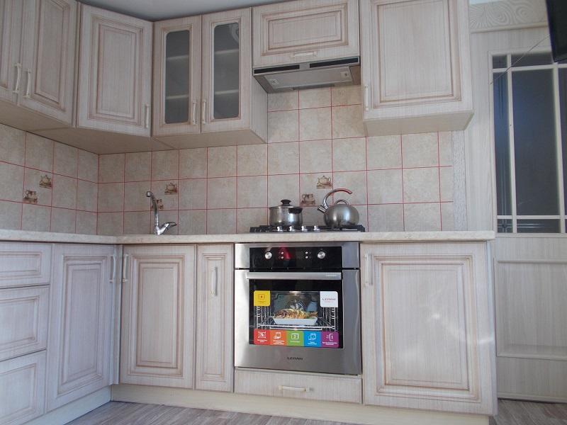 кухня угловая, фасады - вяз-прованс патина